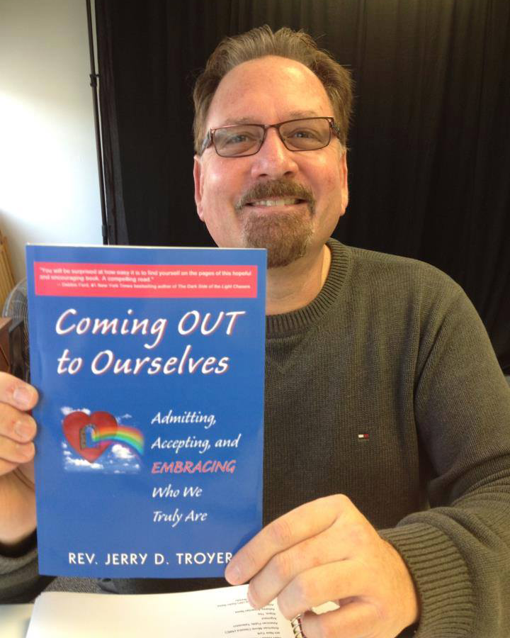 jtroyer with book 030820